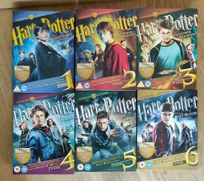 Harry Potter Ultimate Edition - Years 1-6 Box Sets - Blu-rays & DVDs