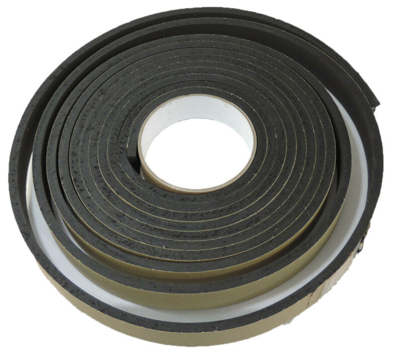 16 Foot Roll Disposable Hat Size Reducer Sweatband Grey Sticky Foam Tape