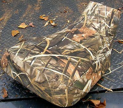 YAMAHA GRIZZLY 700 SEAT COVER MAX-4 CAMO RT/CA FITS 2016-2017 YEARS