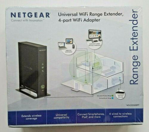 Netgear WN2000RPT Universal WiFi Range Extender Wireless Extender
