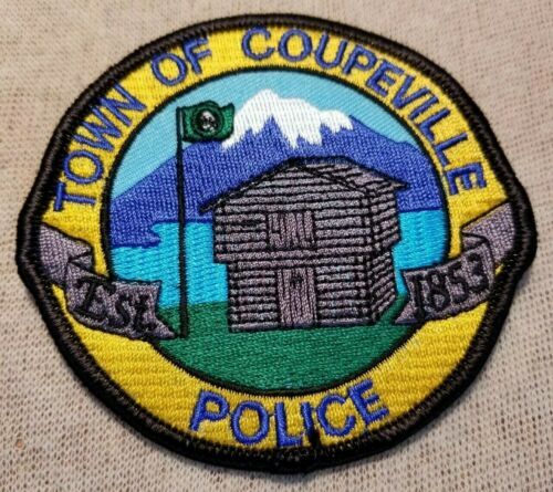 WA Town of Coupeville Washington Police Patch