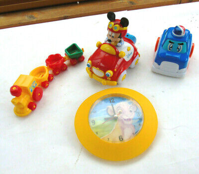 Used, JOUET JEUX D'EVEIL ENFANT PETIT TRAIN MICKEY VOITURE CHILDREN TOY GAME FIRST AGE for sale  Shipping to Nigeria