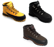 MENS Lightweight SAFETY TOE CAP Safety WORK BOOTS Leather Shoes  TRAINERS 5-13