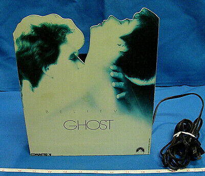 ORIGINAL GHOST MOVIE TABLE ELECTRIC LAMP LIGHT WALL PATRICK SWAYZE MOORE FAN ART - Original Fan Light Wall
