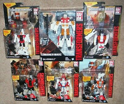 Transformers Combiner Wars Superion Aerialbots LOT of 6 Quickslinger Alpha Bravo