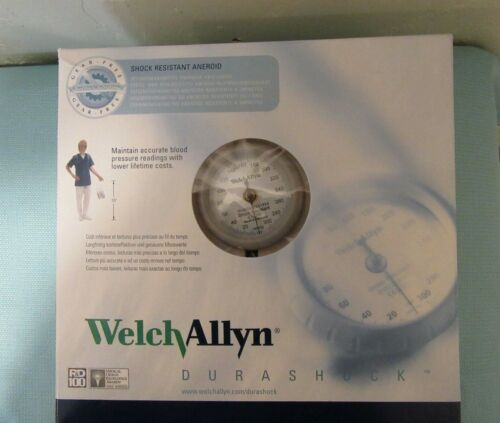 Welch Allyn DS45-11 Durashock Adult Cuff Aneroid Sphygmomanometer