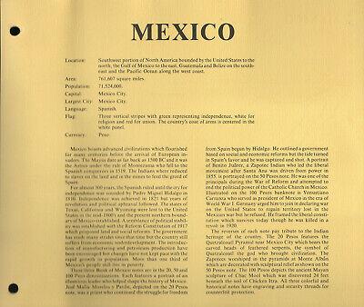 Banknotes Of World Mexico 20 Pesos 1977 P-64d Ser DK 50 1981 Ser JR 100 Ser RW - $20.00