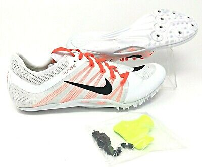 6ad9a9c10 Nike Zoom Ja Fly 2 Mens Track   Field Sprint Spikes White Size 12.5  (705373-101)