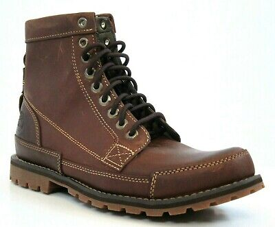 EXCELLENT Timberland Heritage Earthkeepers Waterproof 15551 Brown Boots 7.5