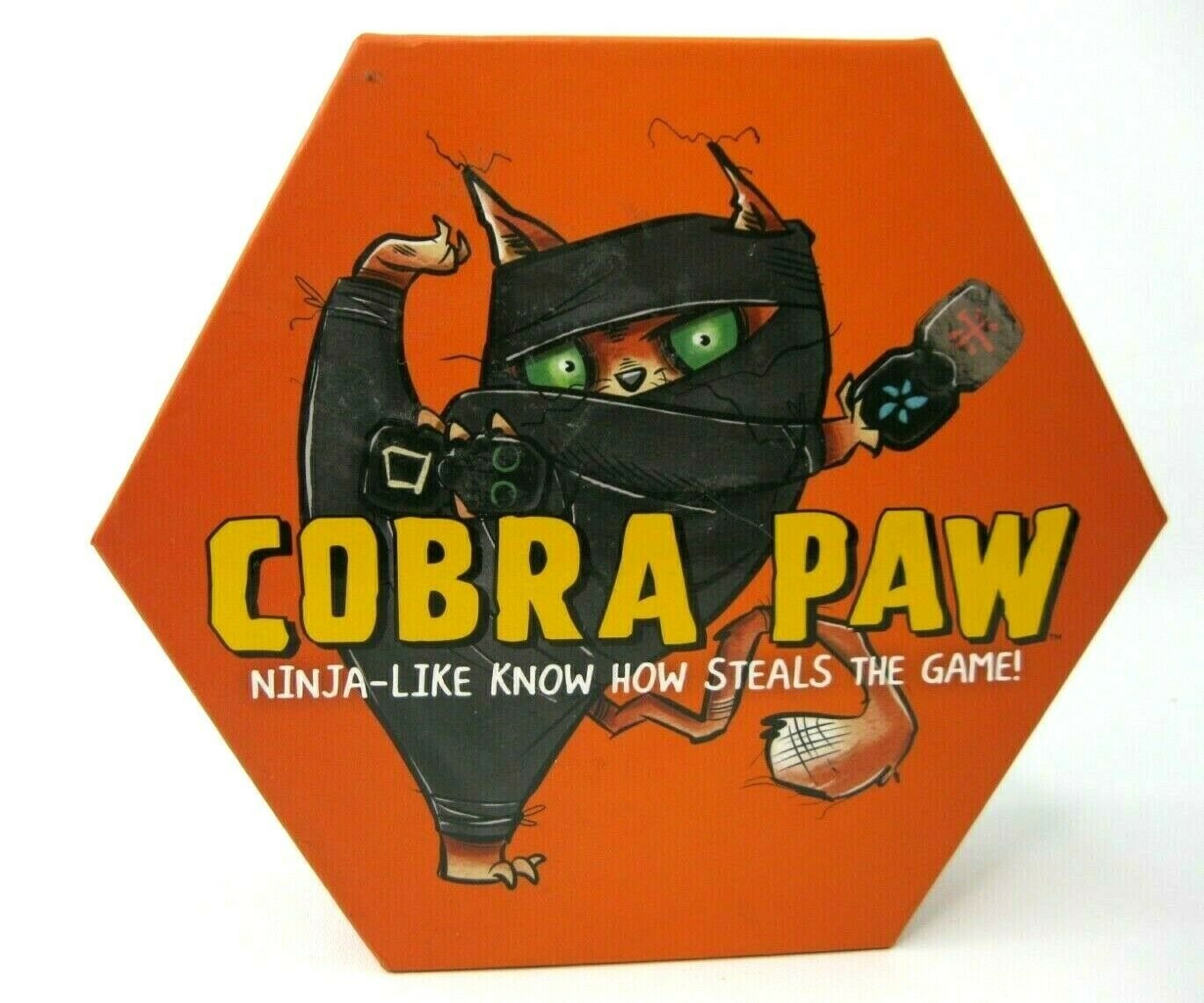 Cobra Paw Ninja Dice & Tile Game  Bananagrams Family Party Cats Kids  Ages 6 +