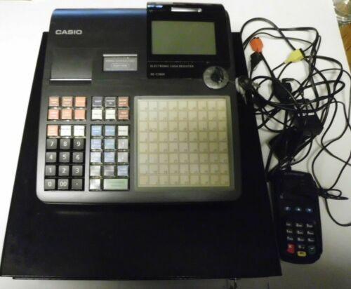 Casio SE-C3500 Store 2 Sheet Thermal Cash Register/Drawer & Card Reader