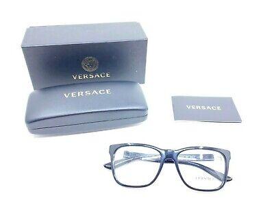 VERSACE Mod. 3243-A GB1 55017 Black RX Eyeglasses 55[]17 145mm