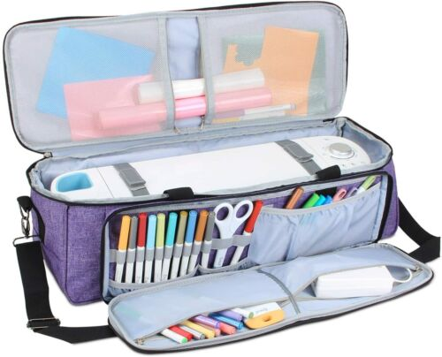 LUXJA CARRYING BAG COMPATIBLE w/CRICUT DIE-CUTTING MACHINE & SUPPLIES NEW