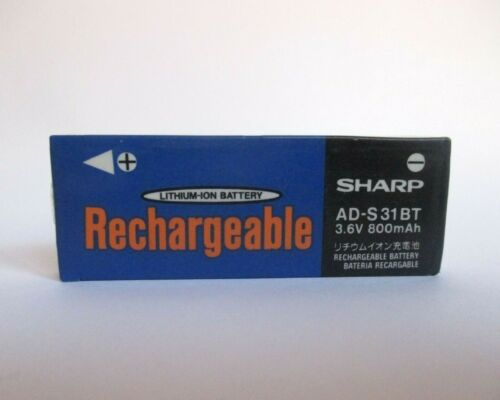 SHARP AD-T31BT 3.6 V Rechargeable Battery 800mAh for MD Players