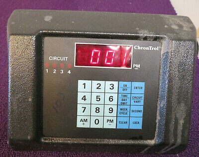 Chrontrol Table Top Programmable Timer - Usedworking