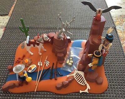 Playmobil Western Gold Prospectors Cowboys Indians