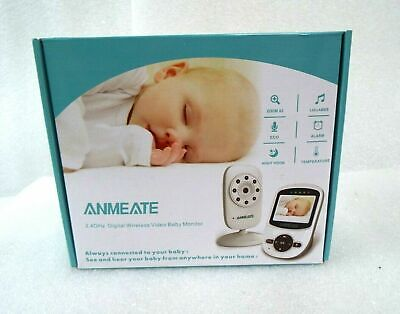 Video Baby Monitor with Digital Camera, ANMEATE Digital 2.4Ghz Wireless SM24