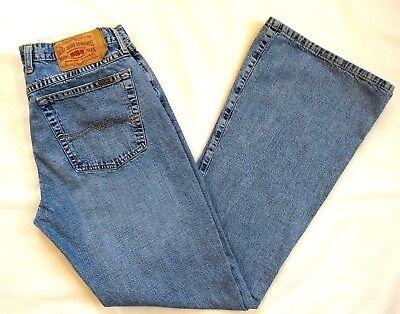 Lucky Brand Womens Light Blue GLAM ROCK BUTTON FLY FLARE LEG Jeans 12/31 Long (Light Blue Rock)