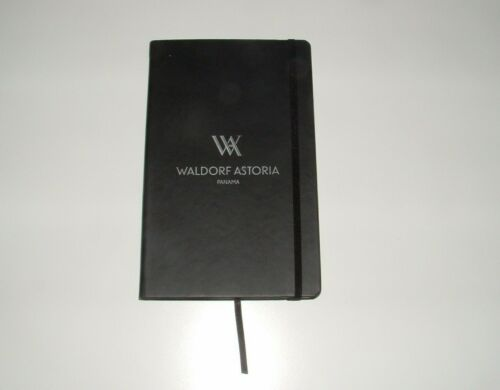 Waldorf Astoria Panama Lined Journal Book, pre-owned (Unused)