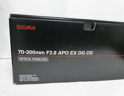 Sigma 70-200mm f/2.8 APO DG HSM OS lens for Nikon  mount DSLRs - Boxed, gebruikt tweedehands  verschepen naar Netherlands