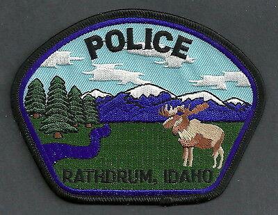 RATHDRUM IDAHO POLICE PATCH