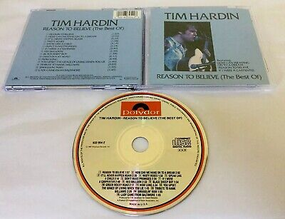 Cd Tim Hardin Best Of Reason To Believe 1987 Polydor 833 954-2 AAD USA