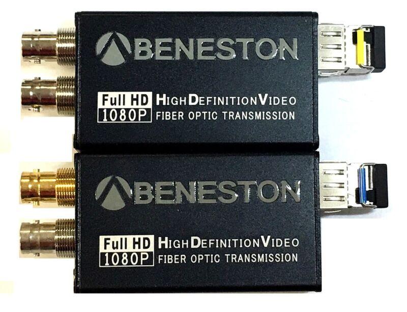 BENESTON HD-SDI fiber converter/DVB-ASI/Broadcast/LC/SDI Signal loop out support