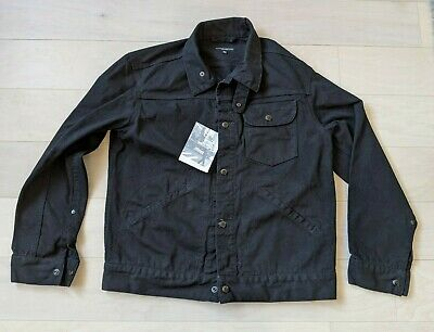 NWT Engineered Garments Type 3 Black Twill Jacket Coat XS XSmall X small