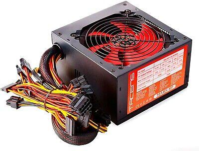 Alimentatore PC ATX 800 WATT SILENZIOSO PCI Express 6+2 pin, 4+4 CPU, A 20+4 pin