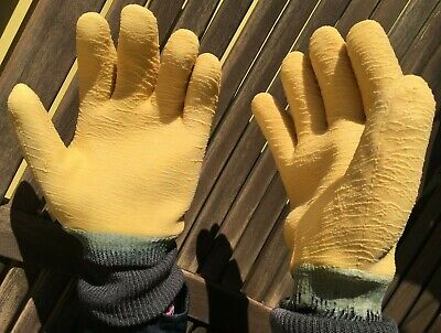 Cold Winter Gloves Insulated Work Thick Thermal Extra Grip Men Women Sz 10 L