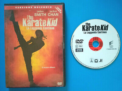 DVD Film Ita Azione THE KARATE KID jackie chan jaden smith ex nolo no vhs cd(T1) ()