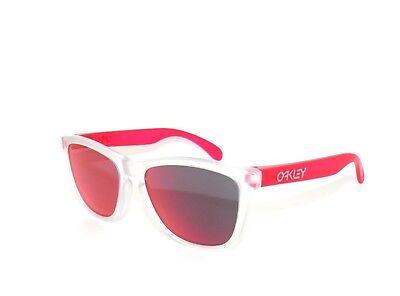 Oakley Sonnenbrille Frogskins 9013-B3 Matte Klar Trns Pink Torch Iridium (Oakley Sonnenbrille Pink)