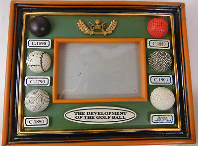 The Development of the Golf Ball Table Top Picture Frame