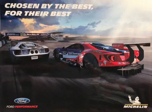 New FORD GT - Ford Performance / Michelin Tire Poster