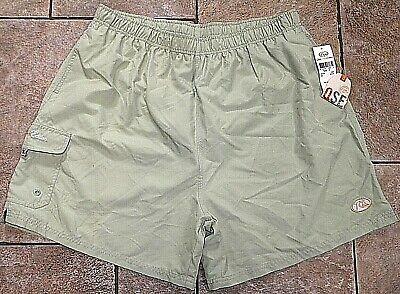 Quiksilver Silver Edition Boardshorts Trunks Baggies - Green - MEN'S XXL 2XL