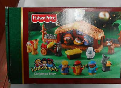 Nativity Sets For Toddlers (FISHER PRICE Little People Christmas Story Nativity Play Set for Toddlers)