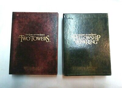 The Lord of the Rings: Fellowship AND Two Towers (DVD) Special Extended Edition