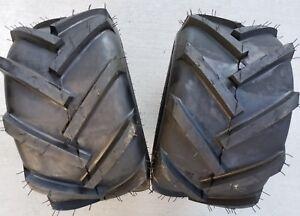 2 - 18x9.50-8 2P OTR FieldMaster Tires Lug AG PAIR 18x9.5-8