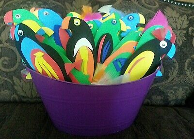 BUY 2 GET 1 FREE Parrot Head Pirate Costume Birthday Themed Party Party Favors  (Parrot Pirate Costume)