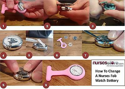 NursesStore Guide to Changing a Watch Battery