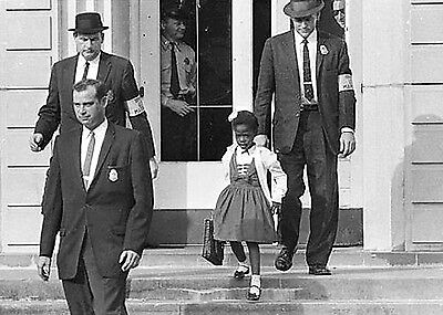 1960 U S  Marshalls Escort First Black Child  Ruby Bridges From All White School