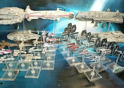 Star Wars X-Wing Miniatures Tantive IV Y-Wing Tie Advanced Imperial Aces  s115