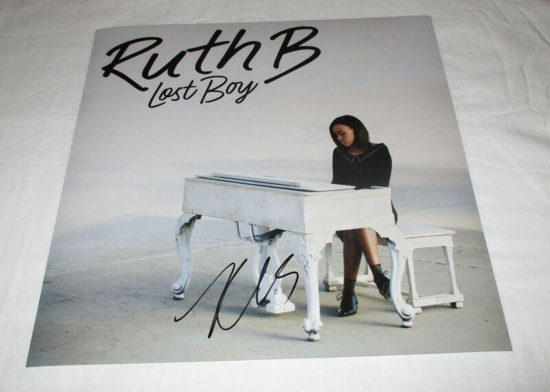 RUTH B SIGNED LOST BOY 12X12 PHOTO