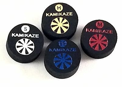 Kamikaze Black Layered Cue Tips  14 MM (Mix & Match) (10 Tips)  Fast Shipping...