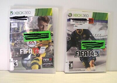 Used, XBox360  Sports Games Bundle of 2 Tested for sale  Shipping to India