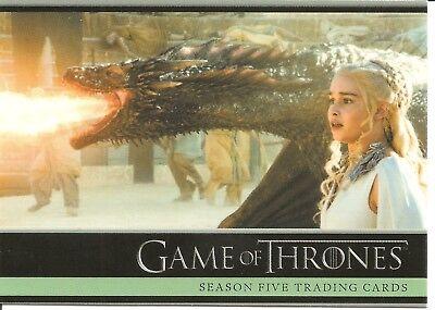 Game of Thrones Season 5 Promo Trading Card #P1