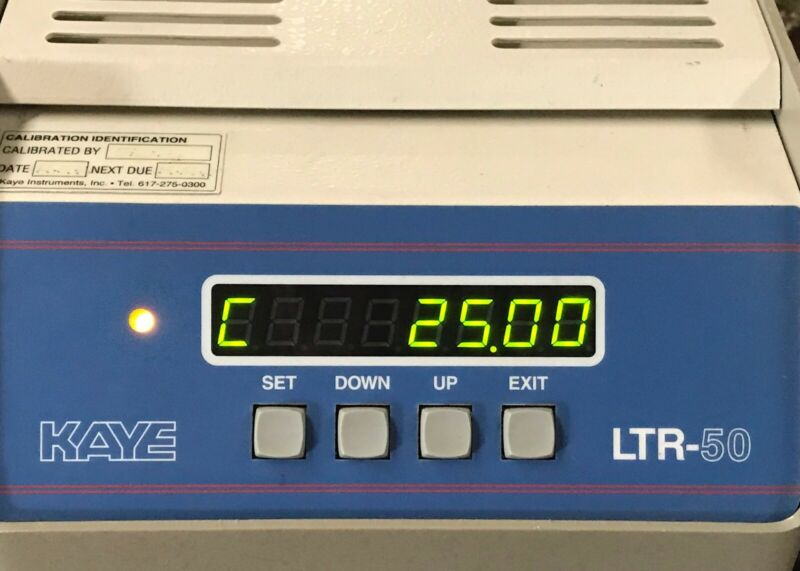 Kaye LTR-50 Amphenol Temperature Bath Dry Well similar to LTR-140 for rtd, etc.