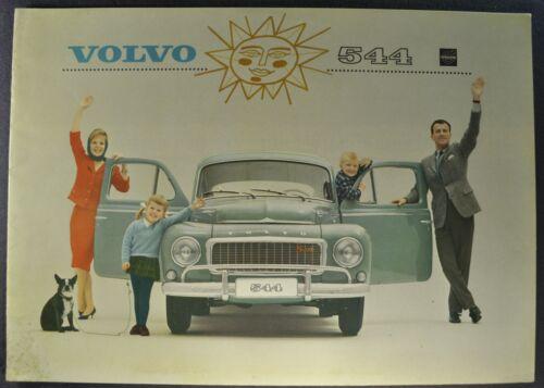 1963-1964 Volvo 544 Sedan Catalog Sales Brochure Nice Original