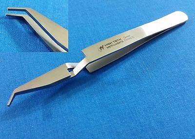 Stainless Steel Posterior Bracket Placing Orthodontic Dental Forceps Tweezers