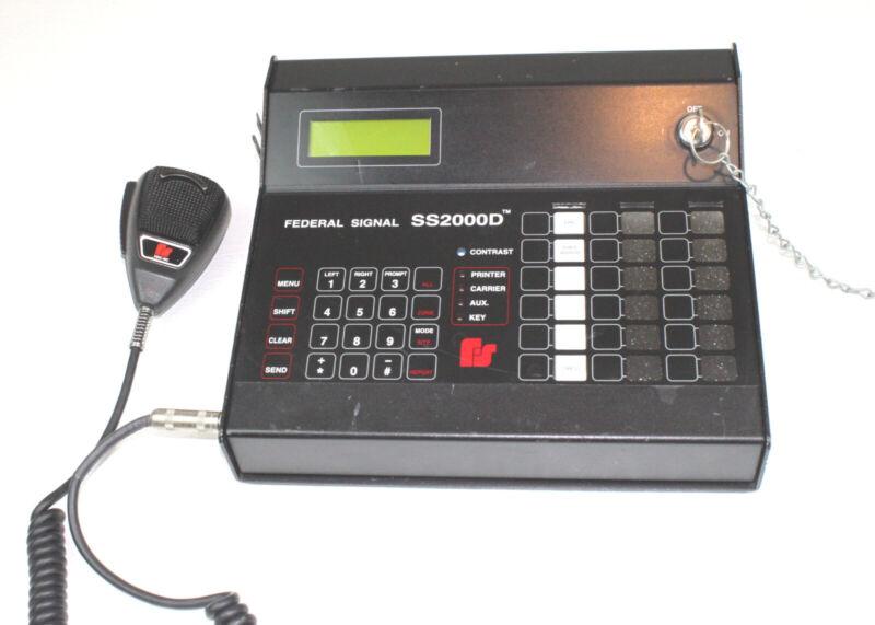 Federal Signal SS2000D 2-Way Control FSK Encoder